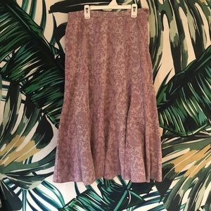Vintage Marks and Spencer Pleated skirt 10